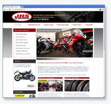 JHS Racing Bristol motorcycle workshop